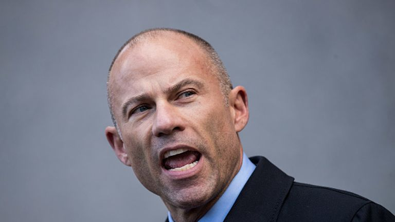 Ms Daniel's lawyer Michael Avenatti has offered $100,000 (£70,000) for information that will help identify the man