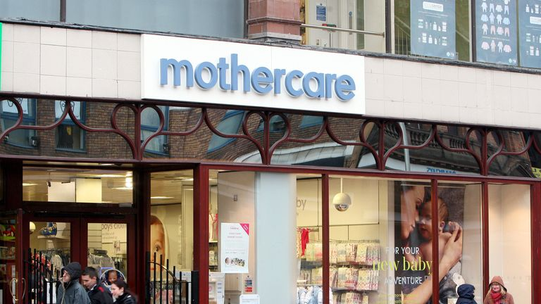 File photo dated 07/02/13 of a Mothercare store. The embattled retailer has appointed David Wood as their new chief executive.