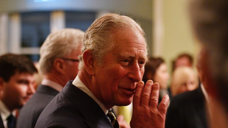 Prince Charles made the remarks at a reception hosted by the Governor of Queensland Paul de Jersey  yesterday evening