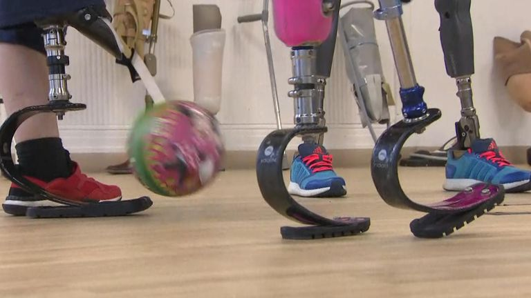Government funding will give thousands of children new activity limbs