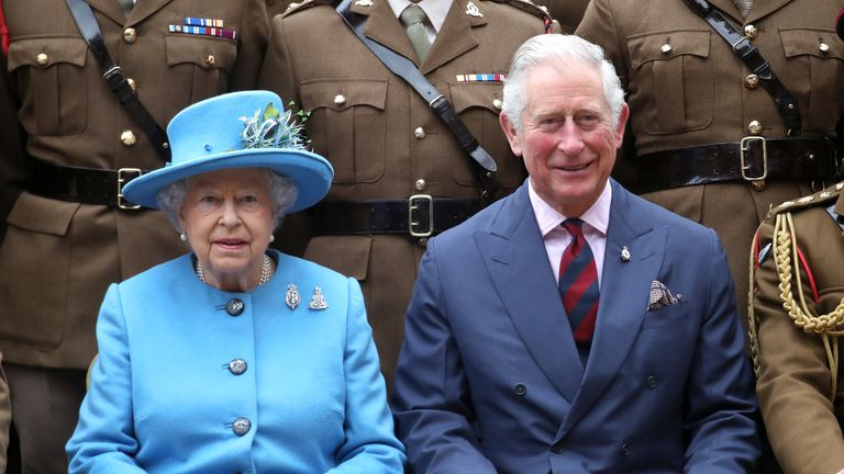 The Queen has hinted Prince Charles could take over from her as head of the Commonwealth