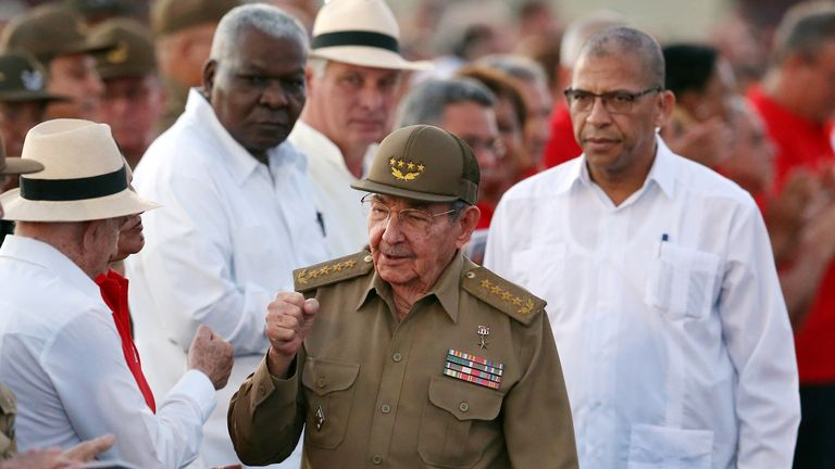 Cuban President Raul Castro is stepping down