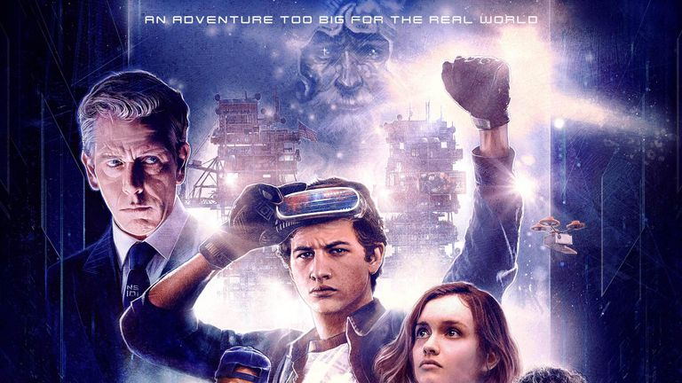 Ready Player One is already one of Spielberg's highest grossing films. Pic: Warner Bros.