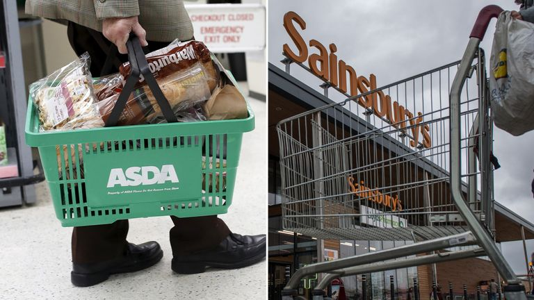 Asda and Sainsbury's are considering a merger