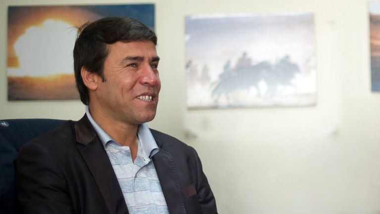 AFP photographer Shah Marai in Kabul