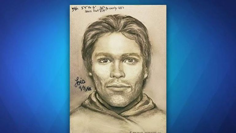 "The sketch of the suspect appeared on ""The View"" on the US channel ABC"