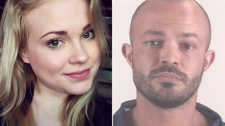 Jacqueline Vandagriff met Bryant at a bar. Pic: Facebook/Tarrant County Jail