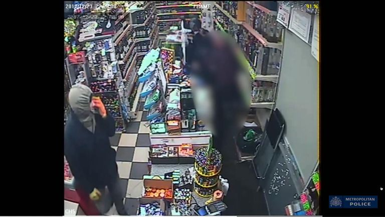 A man who carried out a robbery of an off-licence in Twickenham
