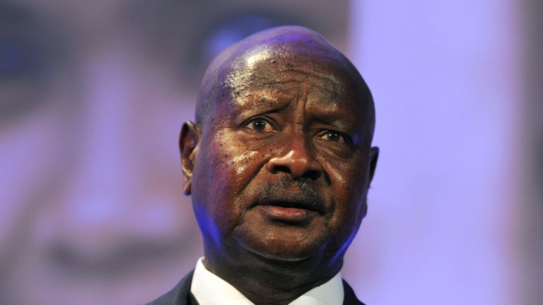Ugandan President Yoweri Museveni has been clamping down on the internet