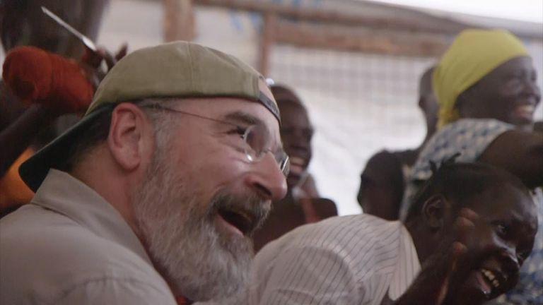 Homeland's Mandy Patinkin in Uganda