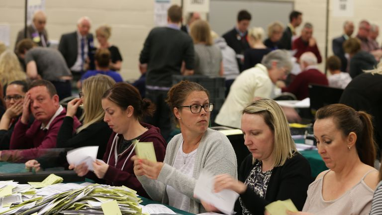 Counting begins across the UK in 2016 local council elections