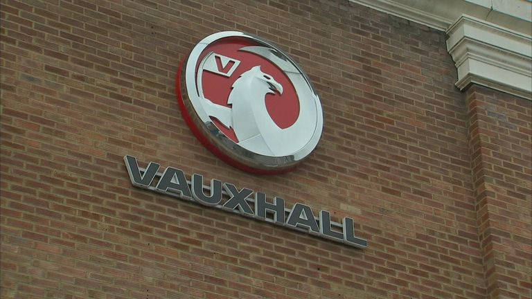 Vauxhall has two vehicle manufacturing plants in the UK