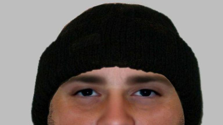 Warwickshire police of suspected burglar