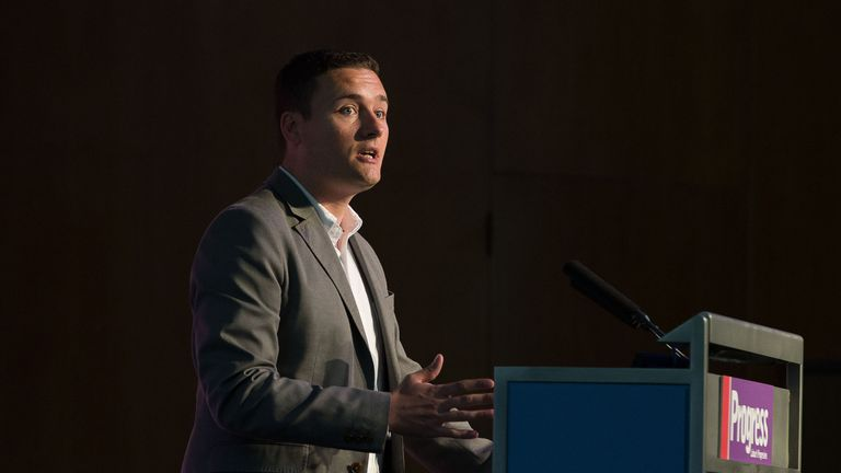 Wes Streeting MP talks at the Progress annual conference, Central London. PRESS ASSOCIATION Photo. Picture date: Saturday May 16, 2015. See PA story  . Photo credit should read: Laura Lean/PA Wire