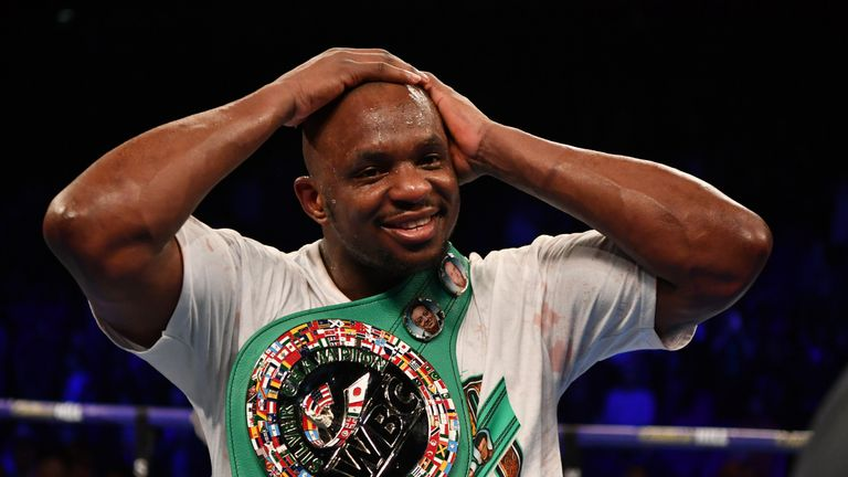 Dillian Whyte could be closing on a rematch with Anthony Joshua
