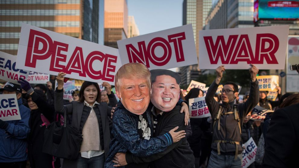 North Korea a chance for Trump to become one of historys great men