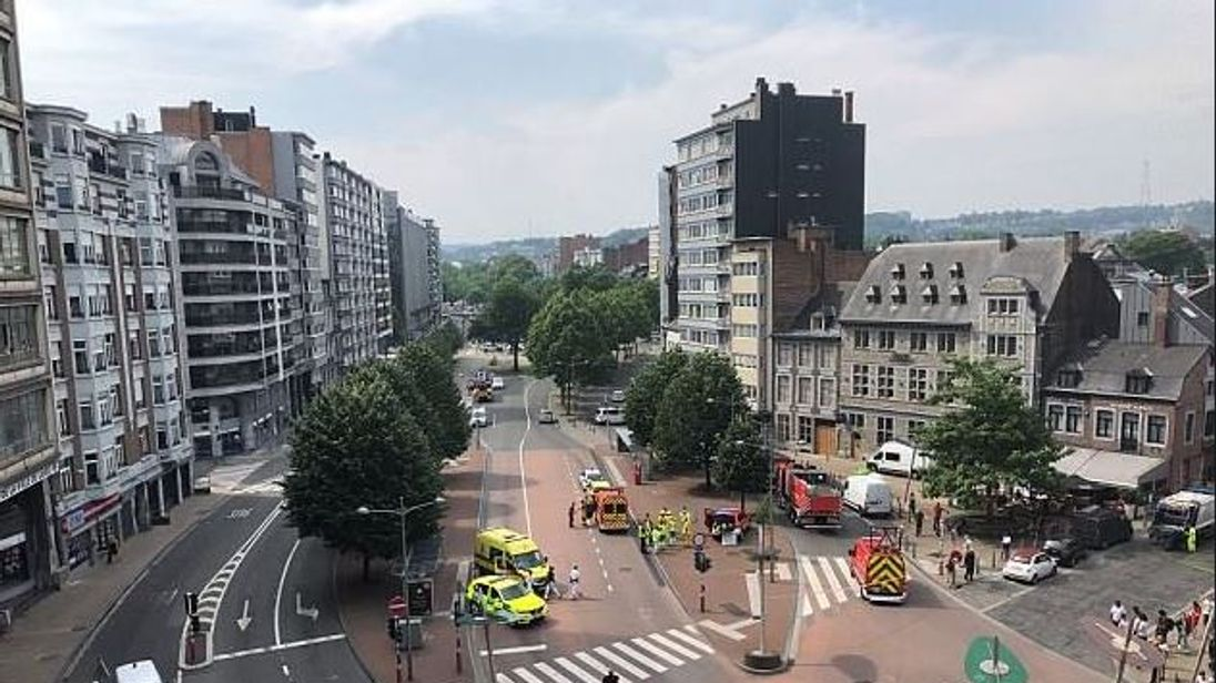 Gunman shoots two police officers in Belgium, according to reports