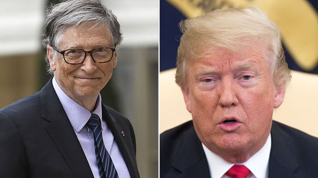Bill Gates has said the US president was unclear about the difference between HIV and HPV