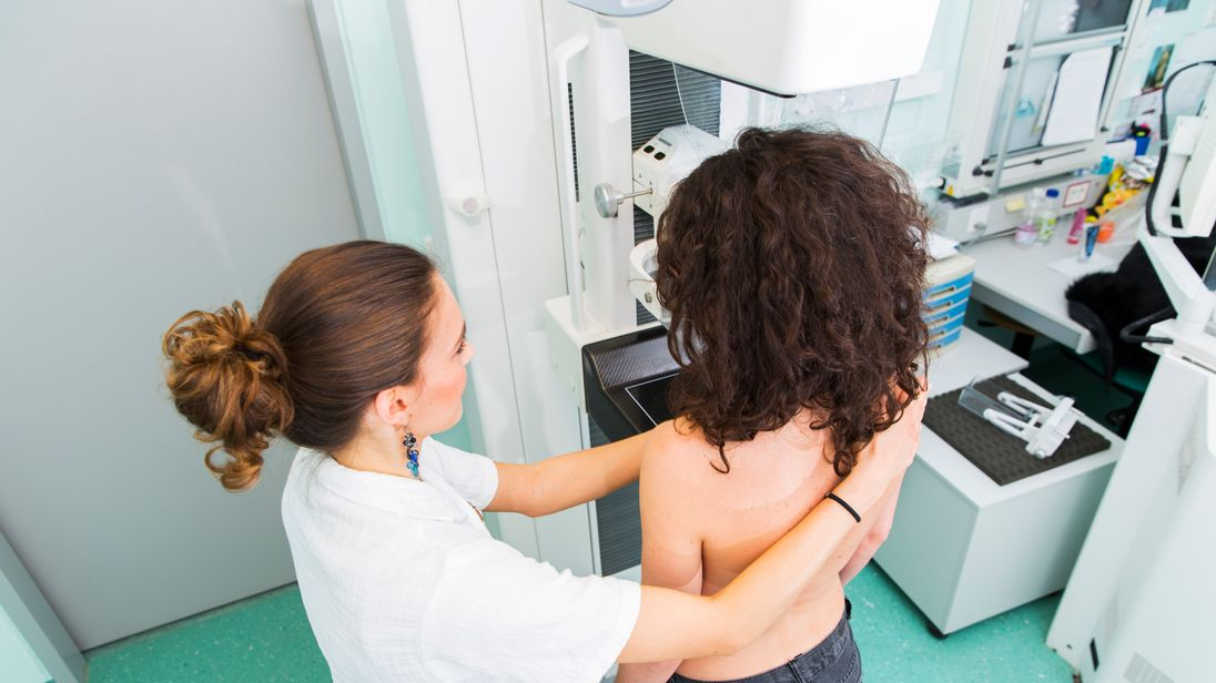 450,000 women aged between 68 and 71 weren't given a chance to have a mammogram