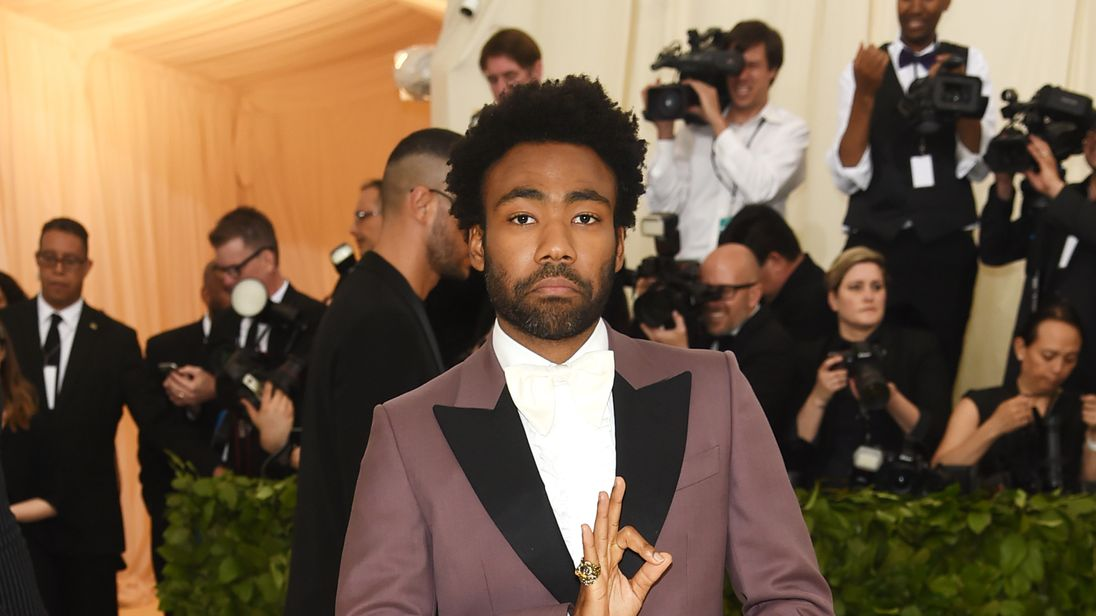 Donald Glover at the Met Ball