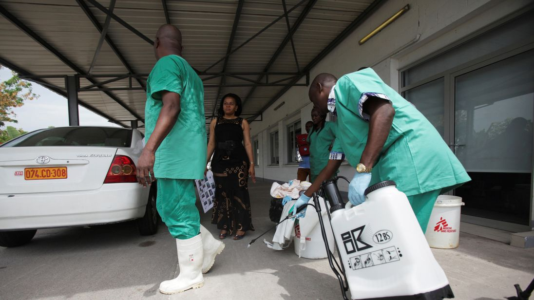 A total of 25 people are thought to have been infected by ebola in the Democratic Republic of Congo
