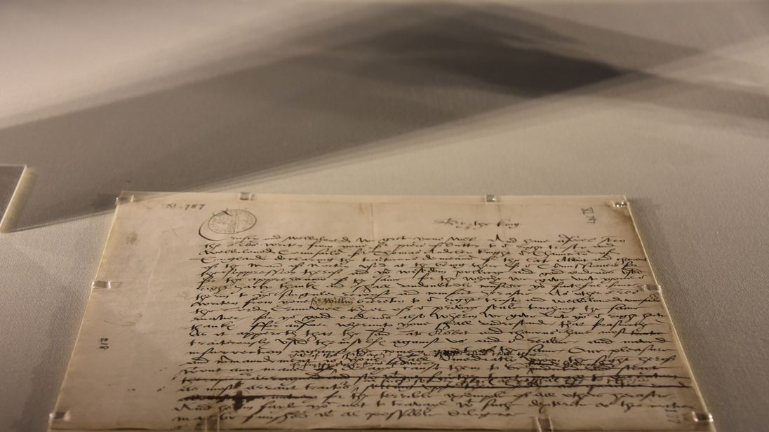 Henry VIII letter. Pic: Norton Priory Museum & Gardens