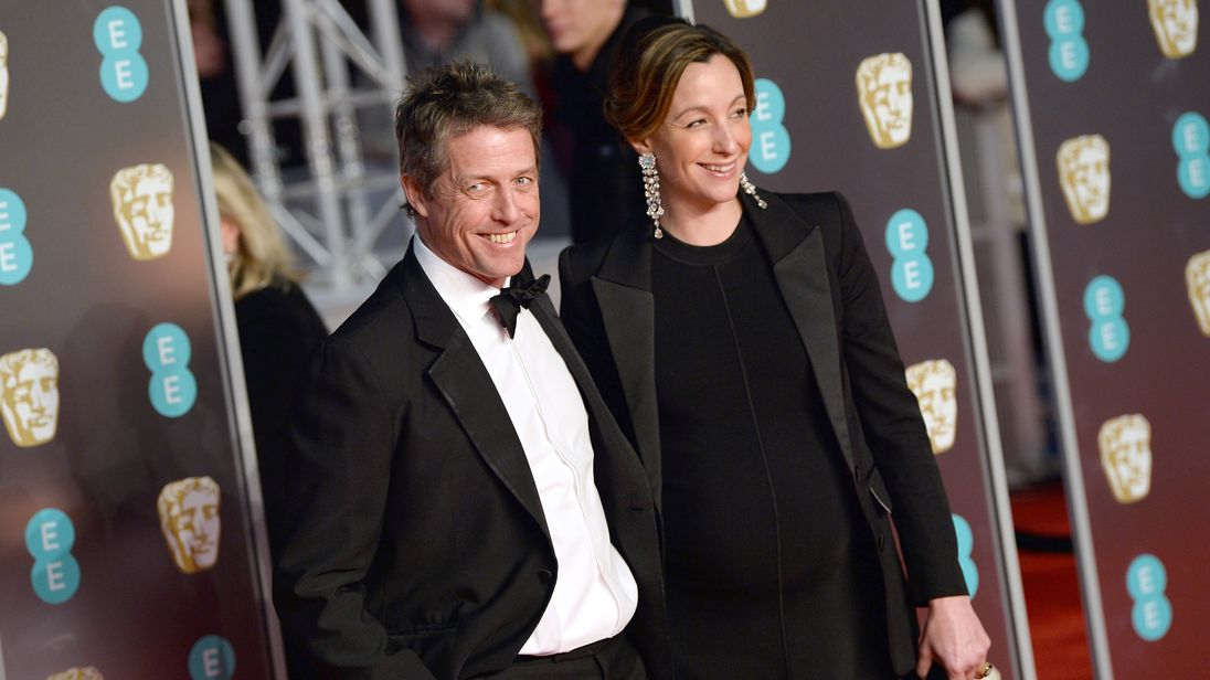 Hugh Grant Is Married! Actor Weds Anna Eberstein in London