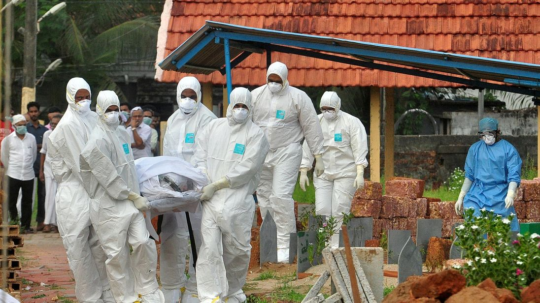 More than a dozen people have died to the brain-damaging nipah virus