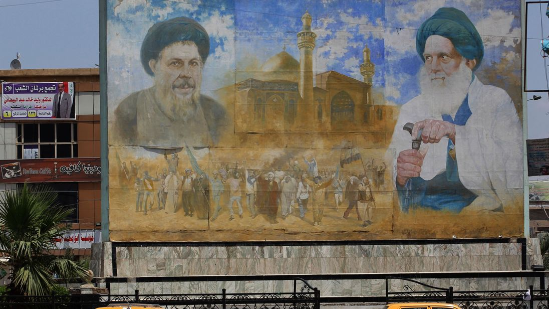 Firebrand cleric Moqtada Sadr forward in Iraq's parliamentary elections