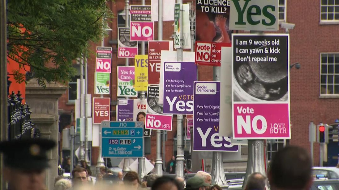 Some Irish-Canadian residents celebrate Irish abortion referendum result