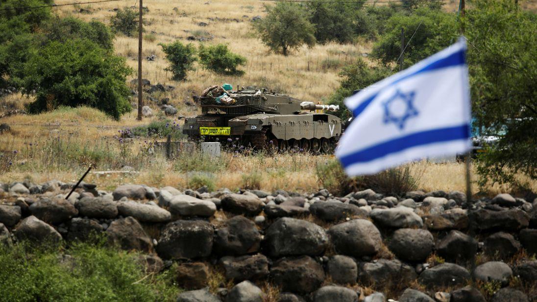 Risultati immagini per GOLAN IRAN ISRAEL
