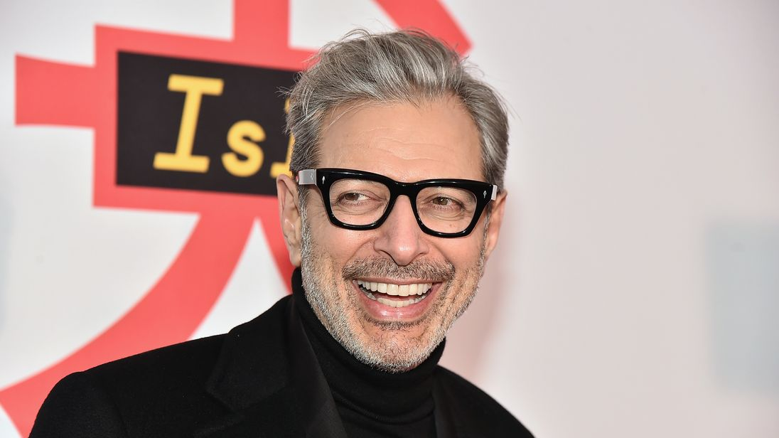 Jeff Goldblum has a debut album coming out