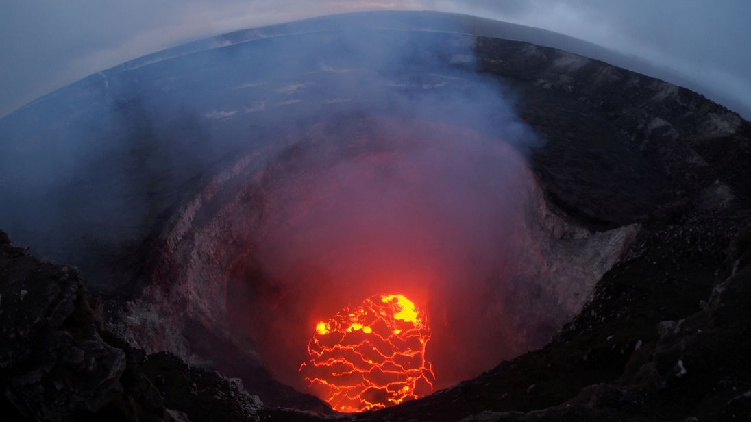 Kilauea volcano started to erupt eight days ago