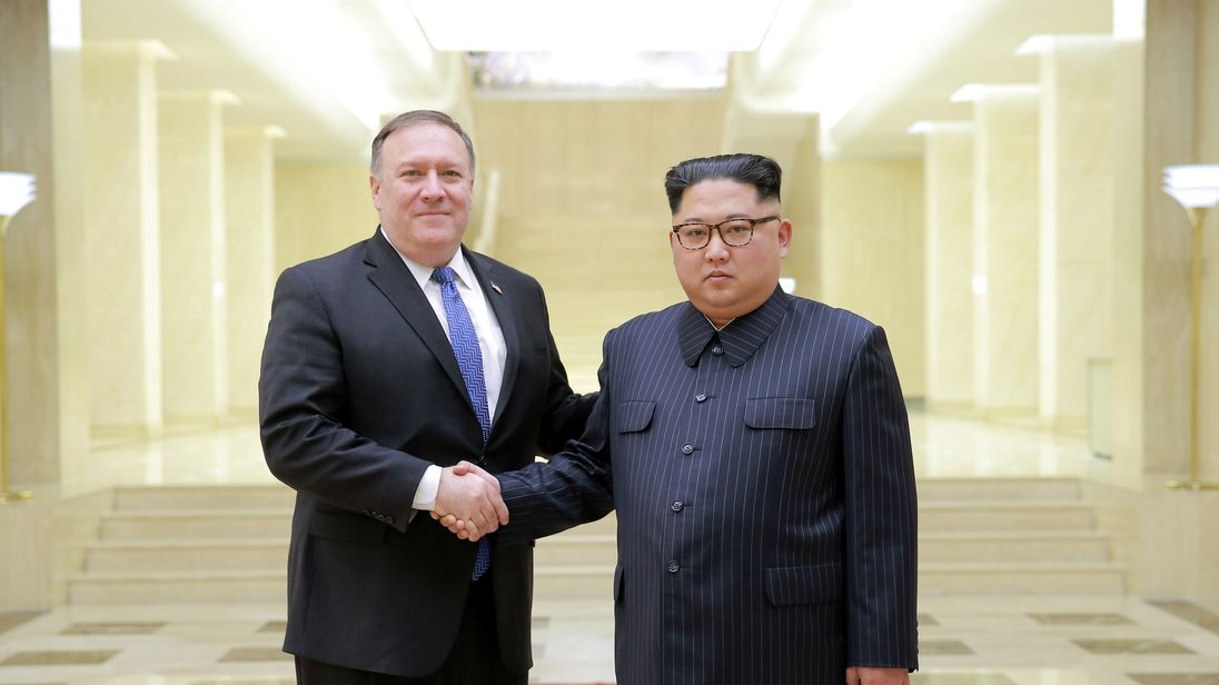 Pompeo shrugs off 'gangster' rebuke from North Korea
