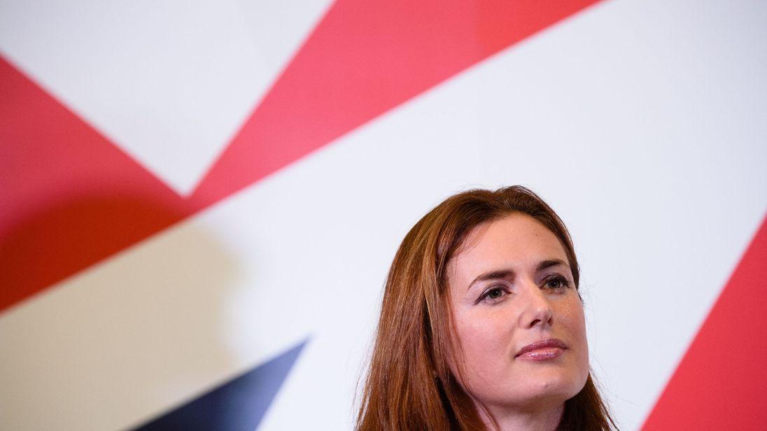 Leave.EU chief executive Liz Bilney