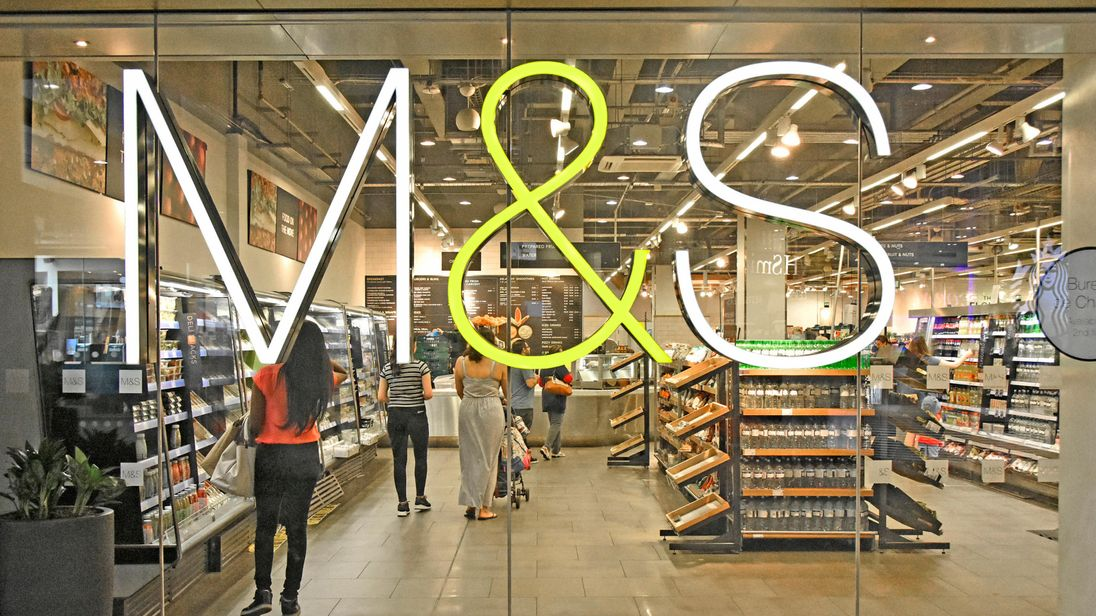 M&S profits plunge 62pc amid sweeping store closure plans