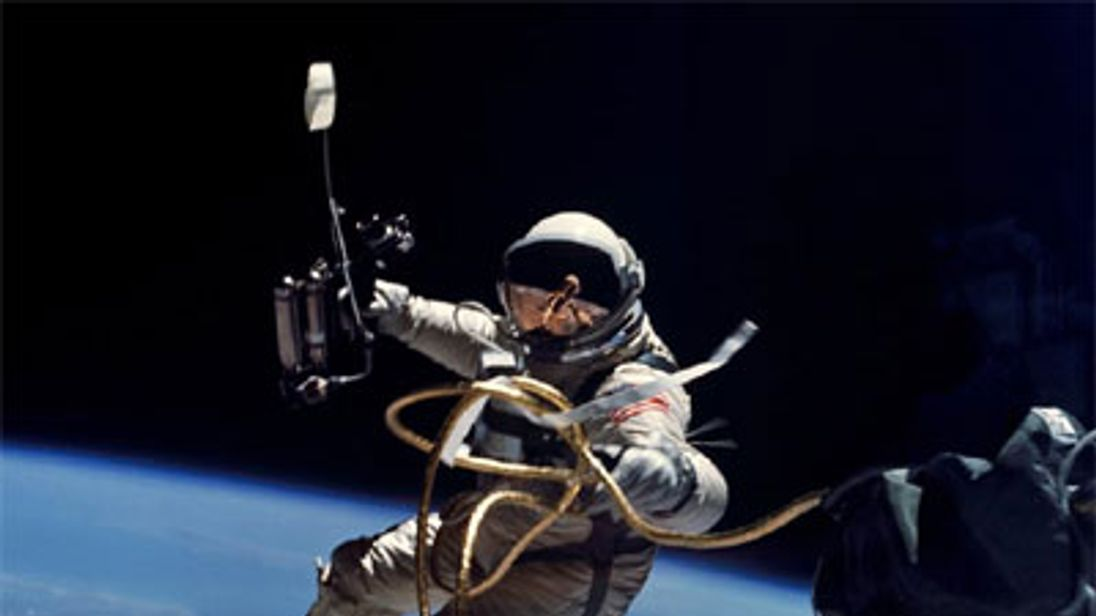 Ed White was the first American to perform a spacewalk.