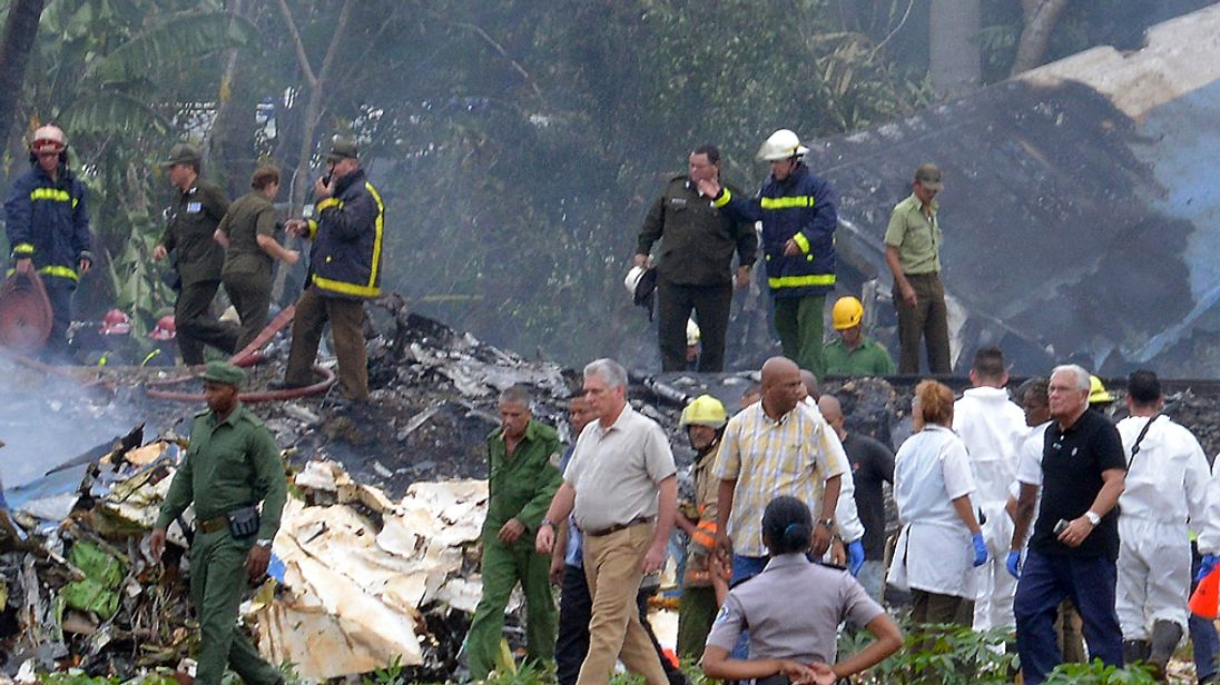 Cuba identifies 20 victims of plane crash
