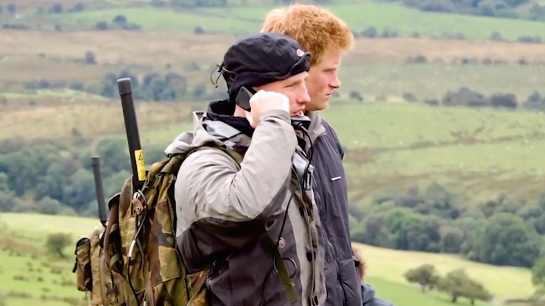 Prince Harry and Dean Stott met in the army