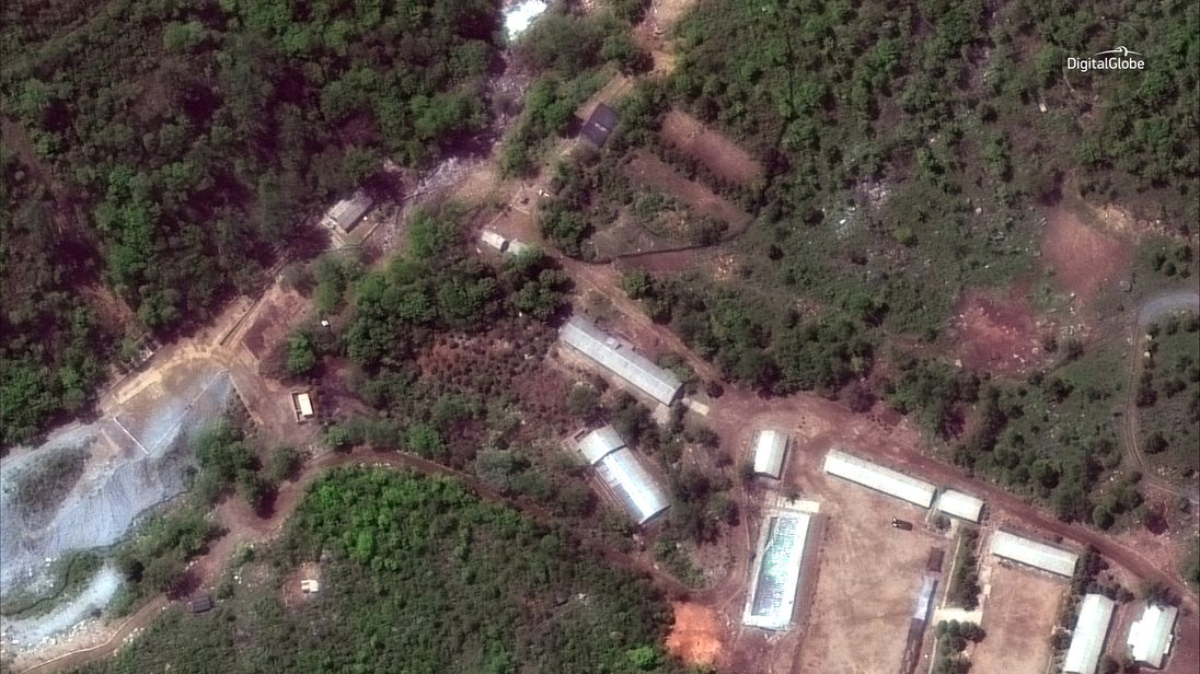 North Korea set to allow inspectors into nuclear test site