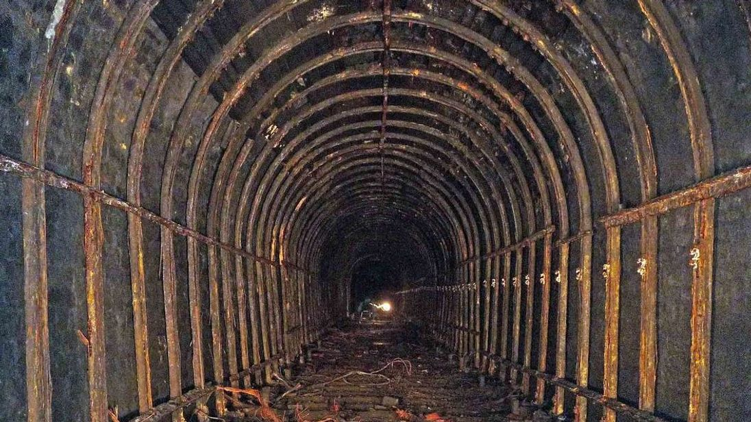 The Rhondda Tunnel in Wales could become the longest underground cycle path in Europe
