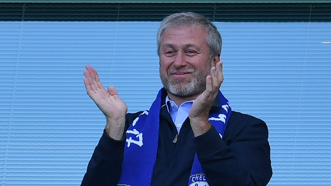 Roman Abramovich is the owner of Chelsea football club