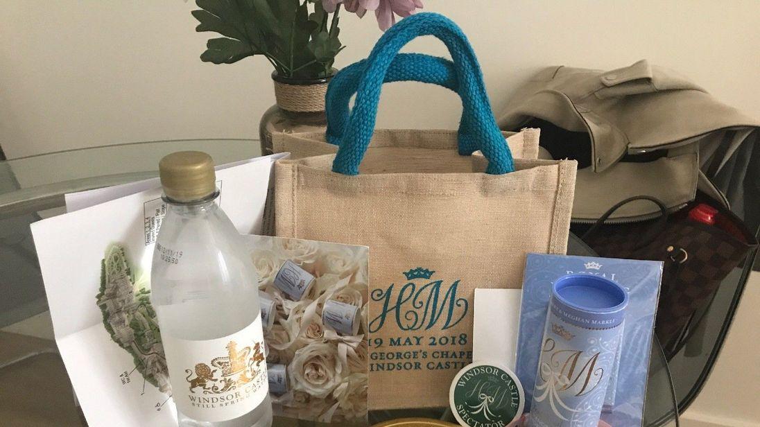 The royal wedding goodie bag