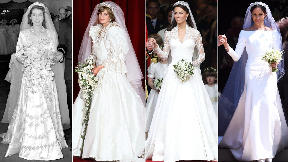 Meghan markles wedding dress and its place in royal fashion history junglespirit Images