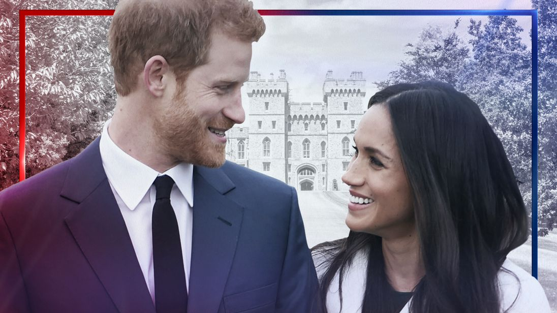 Royal wedding tile - Harry and Meghan