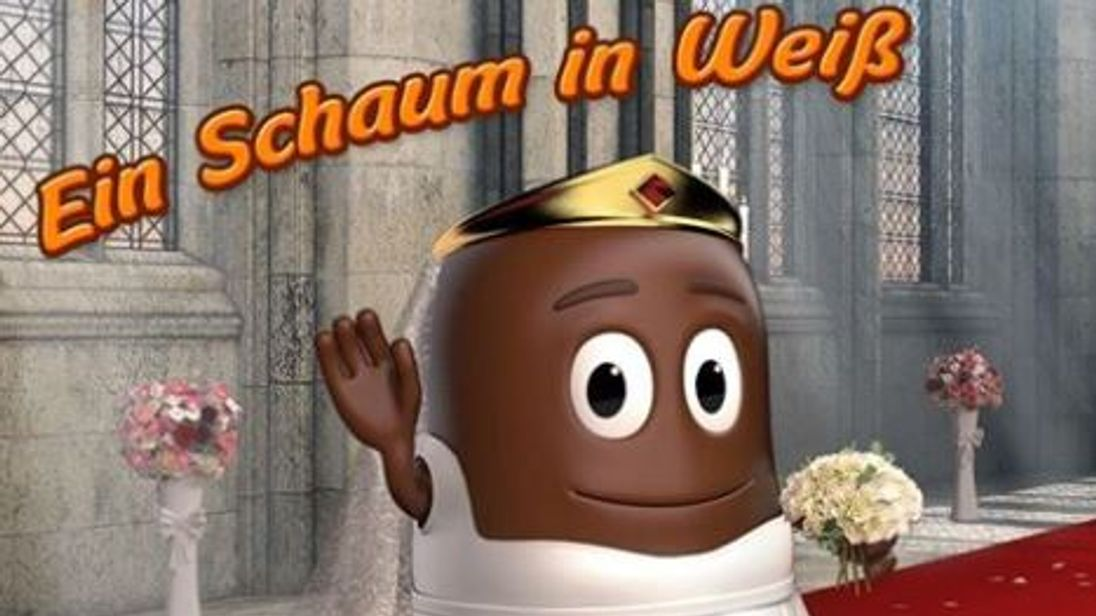 Picture of Meghan Markle as chocolate-covered marshmallow sparks fury