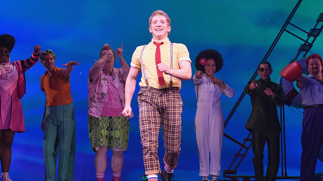 SpongeBob SquarePants has been nominated for best musical in the 72nd Tony Awards