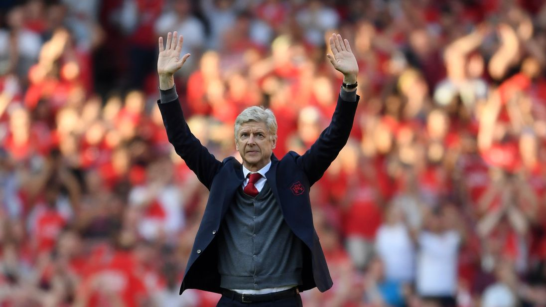 Wenger spent 22 years in charge of Arsenal