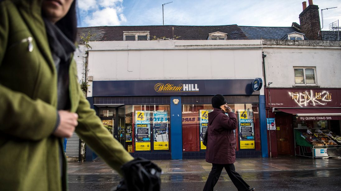 William Hill loses out after gambling machine curbs