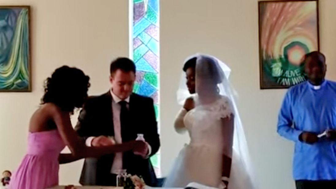 Couple Marries Days After Bride's Arm Bitten Off in Crocodile Attack